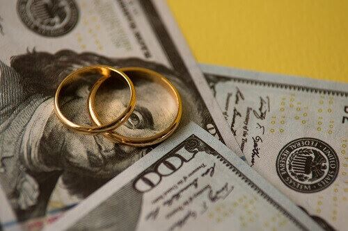 Money from a high net worth divorce