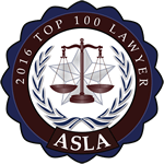 Top 100 Lawyers - ASLA